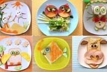 Food art / Parent should do this. Its a smart way to get kids attention!