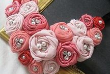 Necklace/headband/rosette...