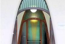 Art deco & art nouveau doors