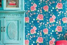"""The """"rose"""" effect / The pattern & shape of rose(s) (& peonia flower) in home decoration"""