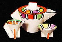 Art deco teapots & coffee pots