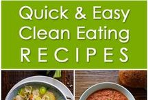 Clean Eating Recipes / Clean eating, healthy recipes