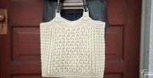 Bag Crochet Patterns / From simple and quick bags to stunning purses for special occasions, you'll find a great variety of bag crochet patterns / designs here.