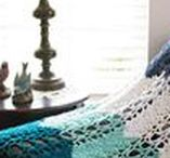 Crochet For the Home / Crochet DIY projects to beautify your home.  Pillows, Blankets, Towels, Table runners, placemats and more