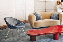 "(N) Mid century modern furniture & style / It's a mixed board of mid century modern style interiors, furniture & objects exactly like my boards ""(A), (B), (C), (D), (E), (F), (G), (H), (I), (J), (K), (L)... Mid century modern furniture & style"". Trying to keep it color sorted"