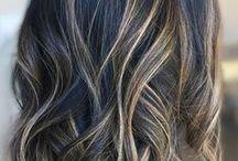 balayaged hair