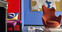 (4) Color & eclesticism / Inspiring photos of both eclectic & colorful inspirational interior design