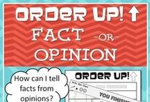 Textes argumentatifs / Textes qui communiquent des arguments: avis, texte d'opinion, débat.