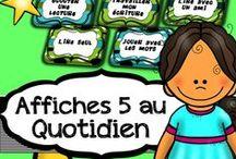 5 au Quotidien / Des ateliers de lecture & écriture des 4 coins du monde.