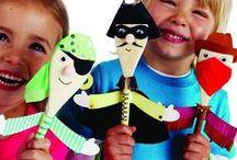 Matière: ARTS DrAmAtique / De la confection de marionnettes à la fabrication de costume, motivons nos enfants à créer dans cette forme d'art si magique.