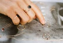 Jewels / Rings, earrings, necklaces, etc.  I think you get the point.