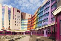 Regenboogboom in het ziekenhuis / Minimaal 1x per maand komen we in deze ziekenhuizen. Wil je dat de Regenboogboom ook in jouw ziekenhuis komt? Dat kan! Informatie vind je hier: http://www.regenboogboom.nl/regenboogboom-bezoeken/ziekenhuis