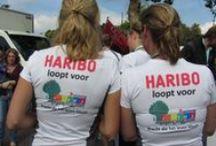 Singelloop 2013 Breda / Een heel bijzondere dag! Er liep een team van Haribo mee voor de Regenboogboom op de 5 km, 10 km en bij de halve marathon. Kracht die het leven kleurt.
