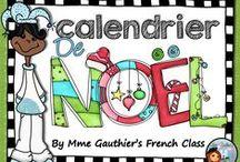 NOËL// Jour de l'An / Pour la maison, pour la classe, des idées de cad-Ho!