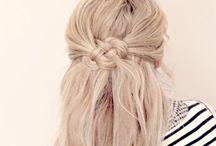 Everyday Hair. (Braids, curls, ponytails)