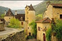 Les Plus Beaux Villages de France / The most beautiful villages of France / by Coeur de Sanglier