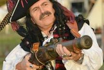 Pirate Men's Fashion / When you are going to the next pirate event, and you want to look dashing, handsome, hot and a bit dangerous.