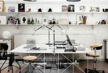 Office Inspiration / Work spaces and home offices we home