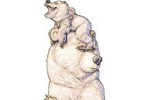 Ciekawe szkice i ilustracje / W tej tablicy znajdziesz szkice postaci z bajek i nie tylko... :))