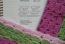 ❤️ Gráficos de crochê / by Chris Campos