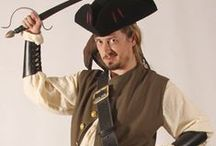 Complete Pirate Outfits Men's Fashions / For theses who want a great looking pirate outfit without having to search dozen of difference sources, here be a collection of high quality entire pirate outfits, not those cheap polyester Halloween costumes.