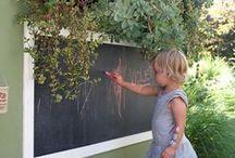 Garden Play / Garden ideas for kids