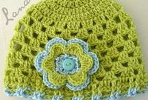 Crochet hat, etc...
