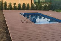 Terasa okolo bazénu #woodparket / #woodparket #terasy #fotogalerie #WPC #zahrada @woodparket @terasy
