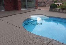 Montáž WPC terasy / #woodparket #dřevo #zahrada #terasy #architektura