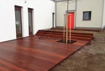 Terasa Merbau / #woodparket #dřevo #zahrada #terasy #architektura
