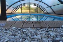 Terasa u bazénu / #woodparket #terasa #garden #wpc #woodplastic #bazen