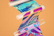 80's retro Design Inspo / Inspiration for 80's retro, neon design style projects