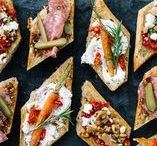 Snacks + Appetizers / These are the perfect recipes for snacks & appetizers, for one or many.