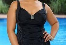 Black Swimsuits 2013 / New all black full figure swimwear styles for 2013