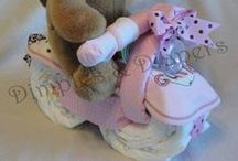 Diaper cakes / by Renee Felkins