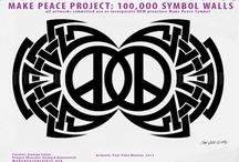 FREE MAKE PEACE TATOO DESIGNS / MAKE PEACE PROJECT: GLOBAL movement: 4000 NYC street artists major art exhibit, walls etc. Also India, France, Germany, Miami and more