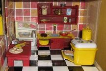 My Dollhouse - Kitchen / fourth room I have made