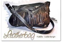 Leatherbags by A.deRo  / Aus alt macht neu ...