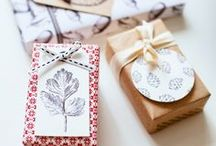 Holidays Decor + Wrap Gift  / by Kate