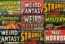 Retro Sci-Fi & Horror Comics, Books, Movies, Magazines & Illustrations / From the past...