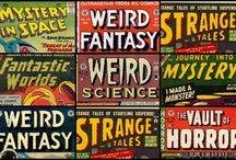 Retro Sci-Fi & Horror Comics, Books, Movies, Magazines & Illustrations / From the past...