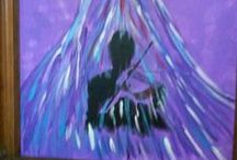 Angel Art by Pama / The paintings are gifts from the other side. Healing energy from the Angels.