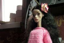 Эмили*** / art doll bjd