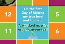 12 Days of Matcha / Come celebrate the magic of matcha as we count down the 12 Days of Matcha, and see what the true love sends each day! You'll find tips, history, recipe links and special deals for a limited time only!