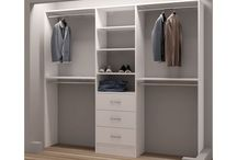 Closet organization / Tips to organize your wardrobe & pictures of organized closets