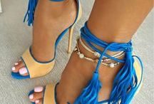 Heeled sandals / Colorful High heels that are stylish & unique
