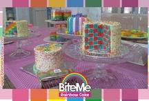Rainbow Cake's / Yummy and Cute Rainbow Cake ^_^