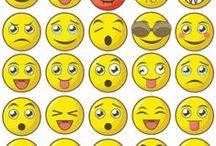 Stickers Smiley / Nouvelle collection de #stickers spécialement dessinée par notre pôle graphisme ! #smileys