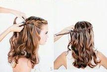 Hairstyling / Inspiratie voor haarstijling. ~ Inspiration for hairstyling.