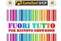 #PROMOTION 2014             #SALDI 2014 / Promozioni, saldi, outlet e fine serie solo su: www.castellanishop.it